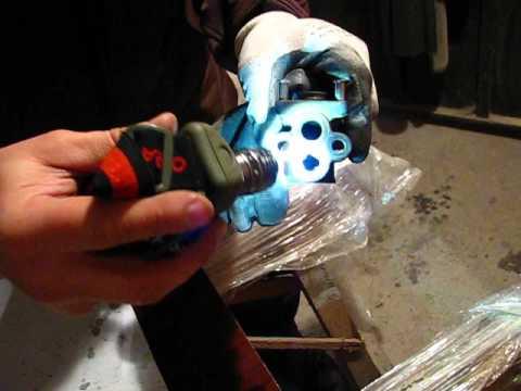 Чистка клапана ЕГР (EGR, рециркуляции выхлопных газов) на SUBARU Forester SG5-ч.2 Разборка и чистка