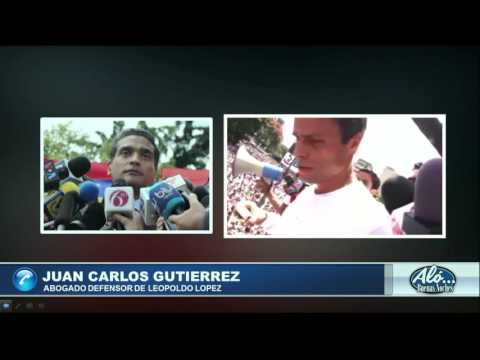 Entrevista a Juan Carlos Gutierrez - Alo Buenas Noches 18-08-2016 Seg. 07