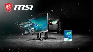 1 MIN TECH - What you should know about OPTIX MAG271CQR | Gaming Monitor | MSI