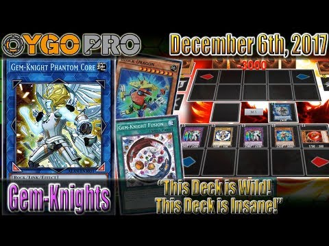 "Gem-Knight FTK w/Block Dragon (YGOpro Duels) ""This Deck is Wild! This Deck is Insane!"""