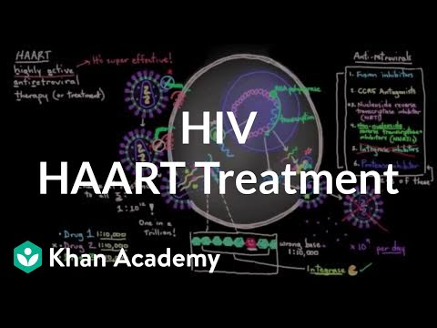 HAART treatment for HIV - Who, what, why, when, and how | NCLEX-RN | Khan Academy