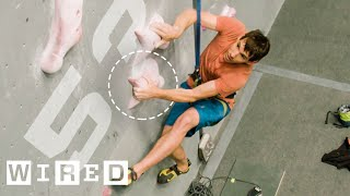 Why It\'s Almost Impossible to Climb 15 Meters in 5 Secs. (ft. Alex Honnold) | WIRED