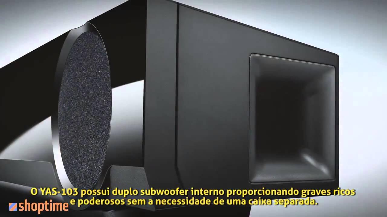 soundbar yamaha 7 1 com bluetooth yas 103 app de controle. Black Bedroom Furniture Sets. Home Design Ideas