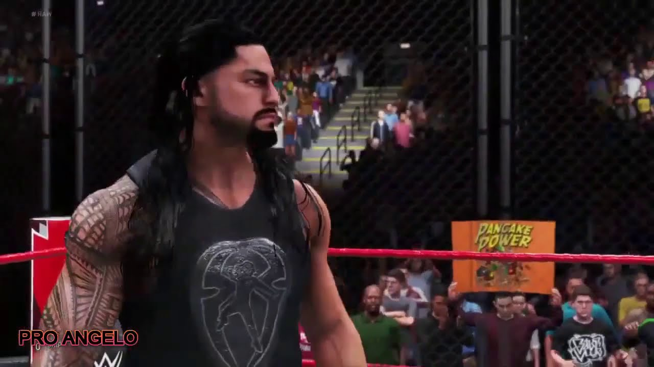 Roman Reigns Vs Kofi Kingston | WWE Gameplay PS4 (WWE 2K20)