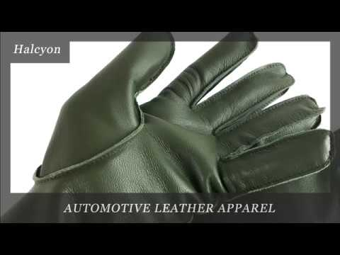 Halcyon Leather Gloves For Classic Car Enthusiasts