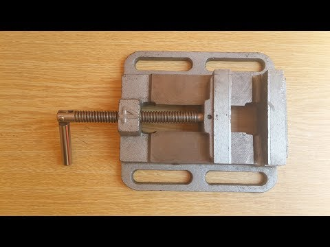 How to Make Drill Press Vise / MATKAP MENGENESİ NASIL YAPILIR.