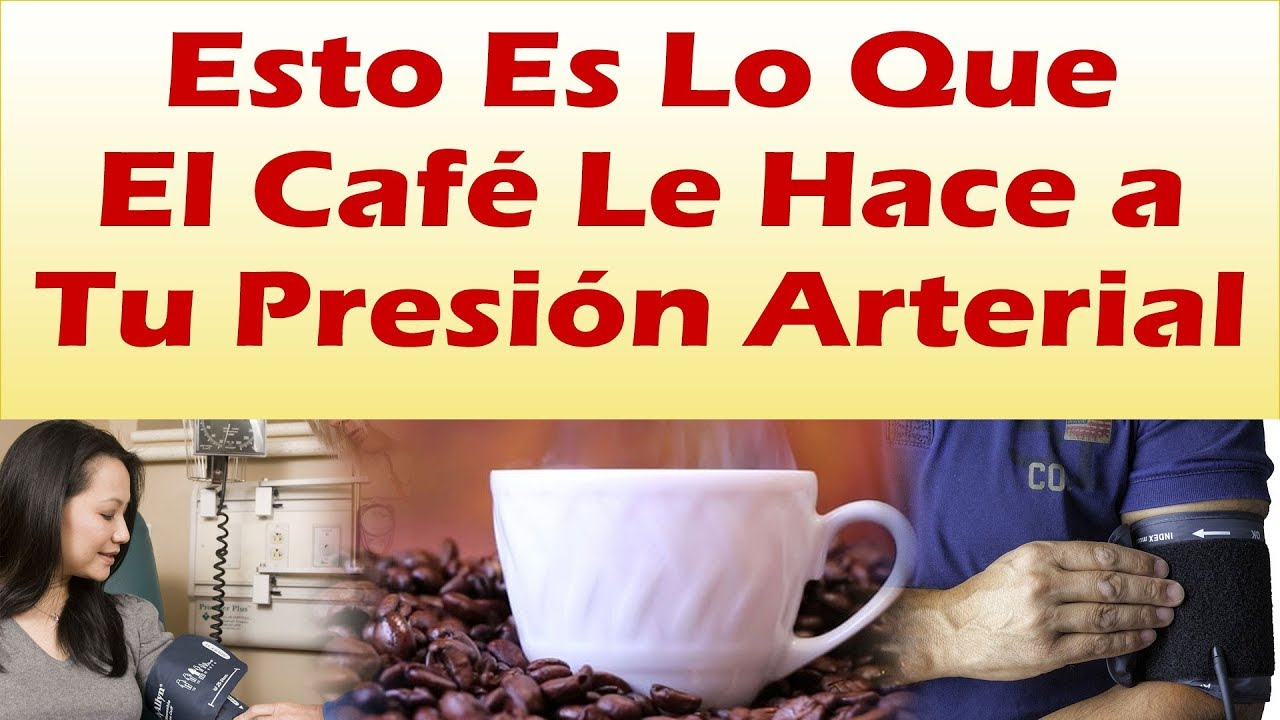 tomar cafe sube la presion arterial