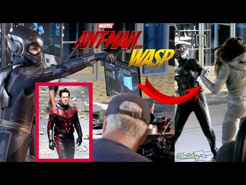 Ant-Man and The Wasp Bloopers, B-Roll, & Behind the Scenes(BTS) | 2018