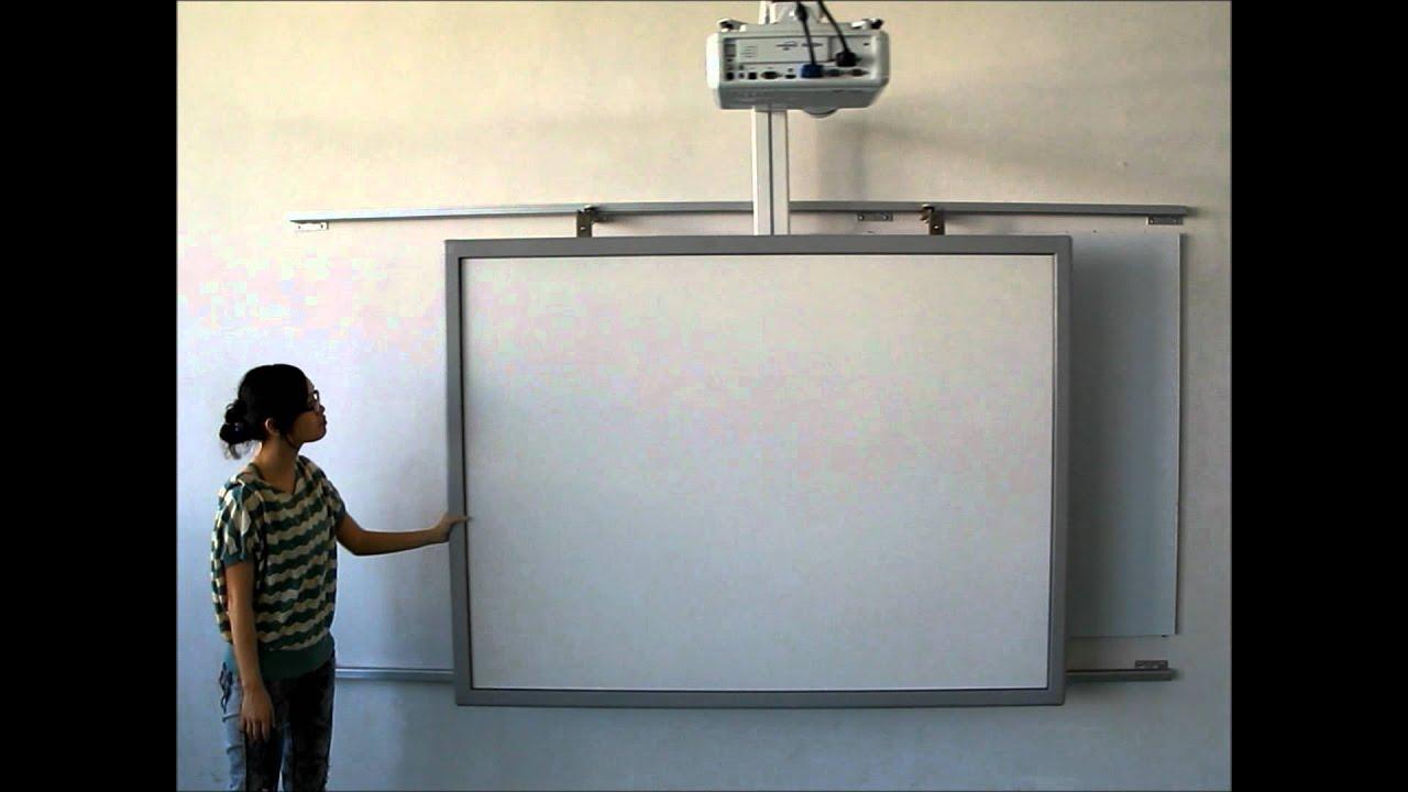 Interactive whiteboard sliding wall mount youtube - Vertical sliding tv wall mount ...