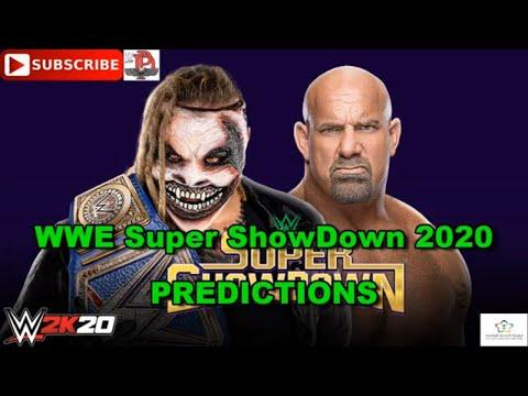 WWE Super ShowDown 2020 Universal Championship The Fiend Bray Wyatt Vs Goldberg Predictions WWE 2k20