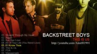 Backstreet Boys This Is Us album demo