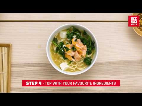 How to make our Miso Tasty Ramen Noodles with a TWIST!