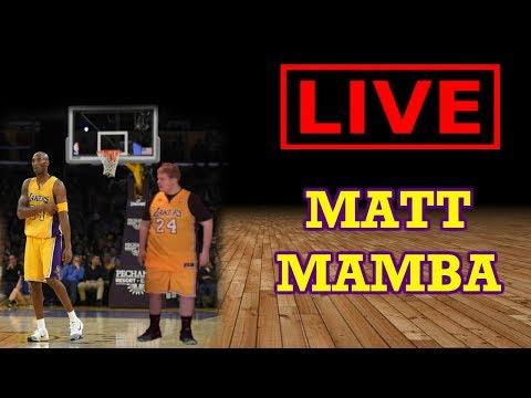 MATT MAMBA LIVE STREAM: PLAYING ON ESPN PLAYOFF SIMULATOR