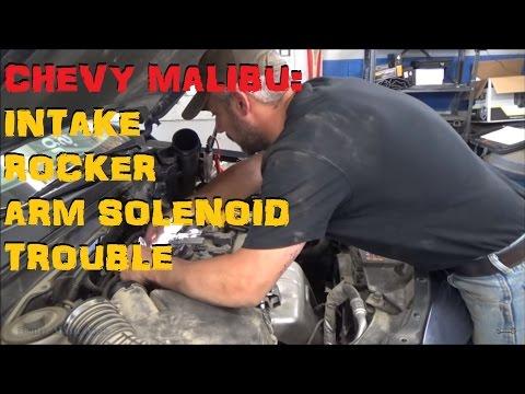 Chevrolet Malibu: Intake Rocker Arm Solenoid Trouble P2645