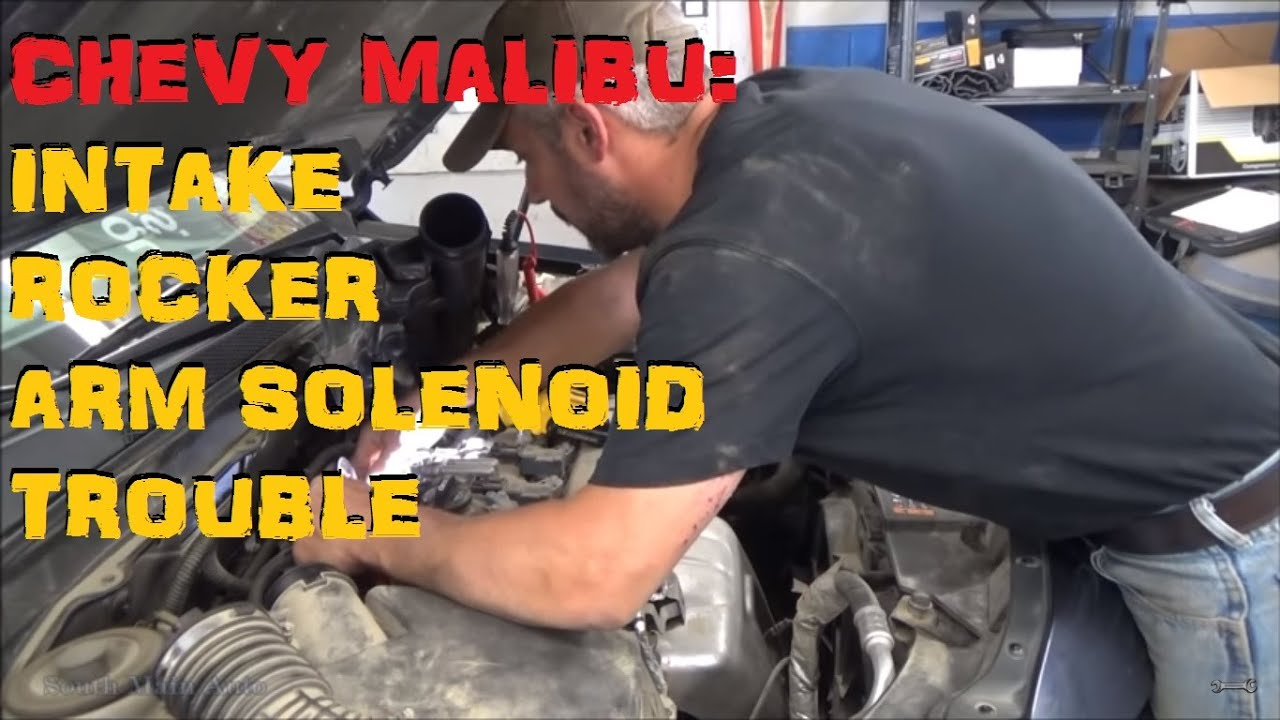 Chevrolet Malibu: Intake Rocker Arm Solenoid Trouble P2645 P2646