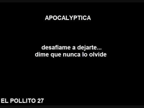 Apocalyptica  SOS Subtitulada en español