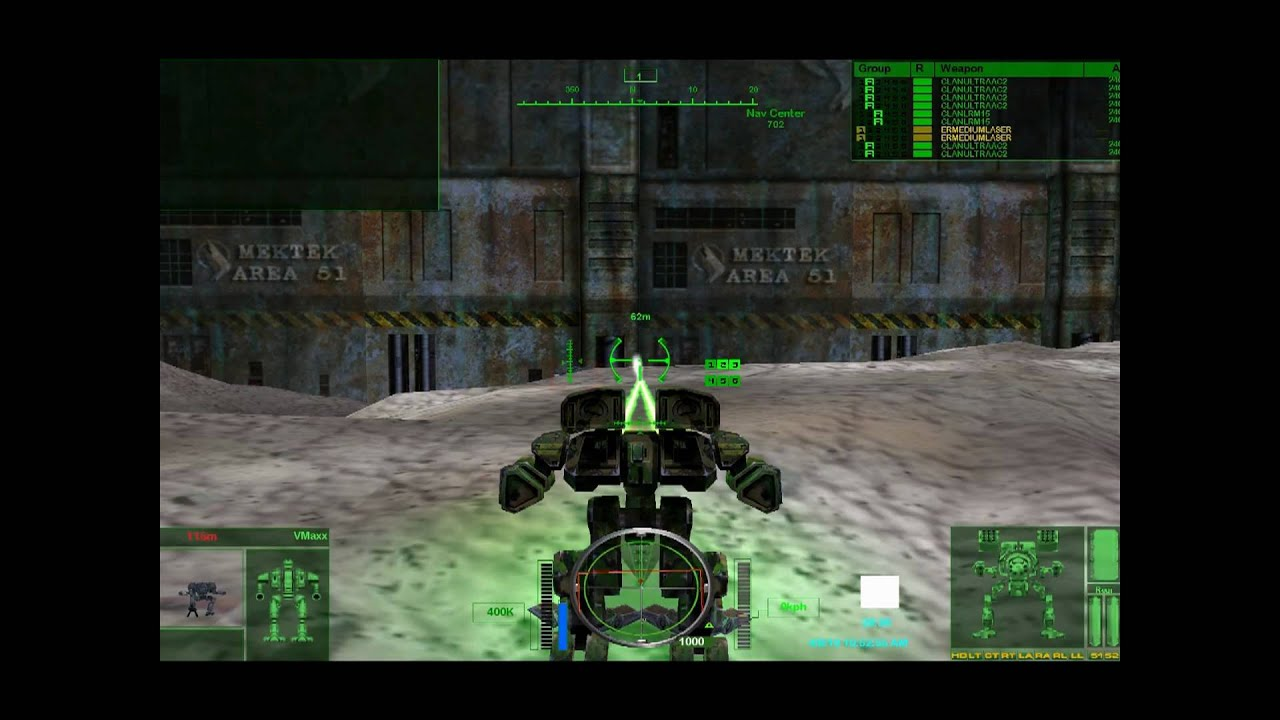 Co-Optimus - News - MechWarrior 4 Free Re-Release is a Go