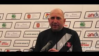 Declarații după meciul cu Gaz Metan Mediaș - Playout