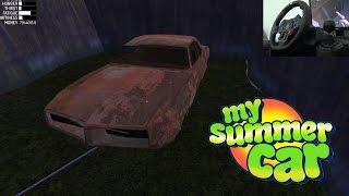llevar uno My Summer Car #17 | Remolcando Auto Chatarra