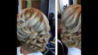 видео Свадебные прически на средние волосы: фото и идеи