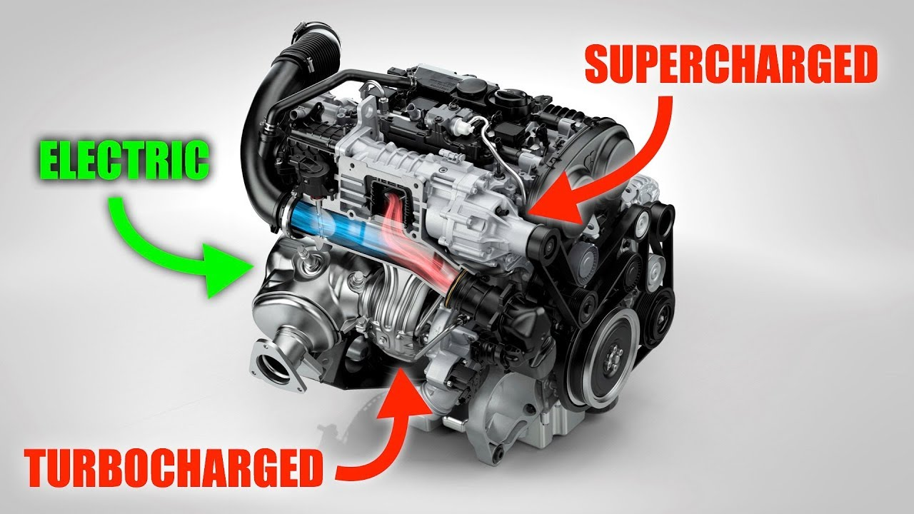 Volvo's Engine Is Supercharged, Turbocharged, And Electric - The Best Engines