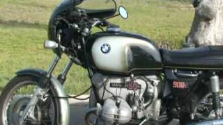 BMW R90S 1975 Silver Smoke