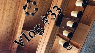 Влог #33|VLOG|Уроки йоги от Влады/Уютный вечер/Топим камин/Жонглер