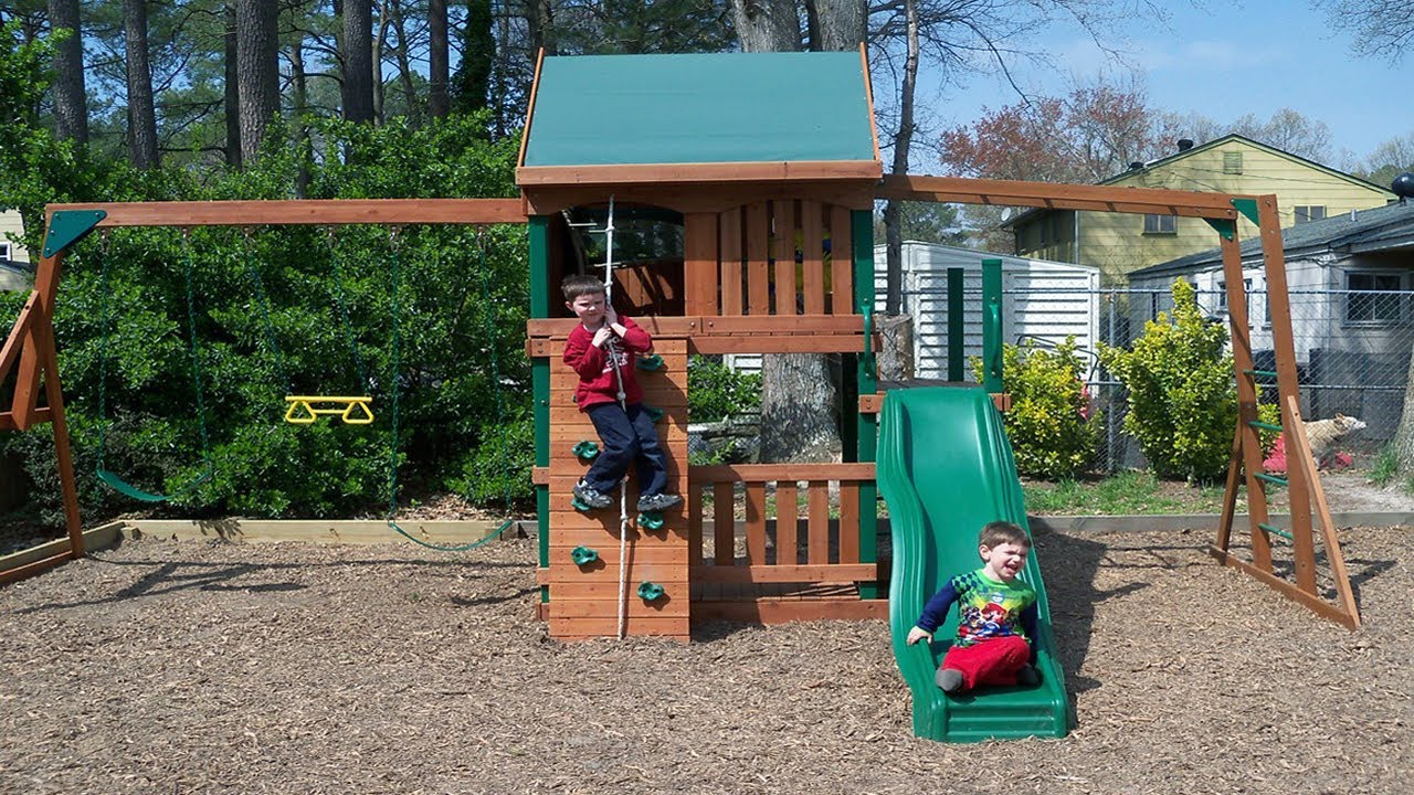 Backyard Ideas On A Budget For Kids YouTube - Backyard play ideas