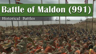 Battle of Maldon (991) - Historical Battles