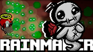 BOSS JUGABLE DE ANTIBIRTH : RAINMAKER | Binding of Isaac Afterbirth † MOD