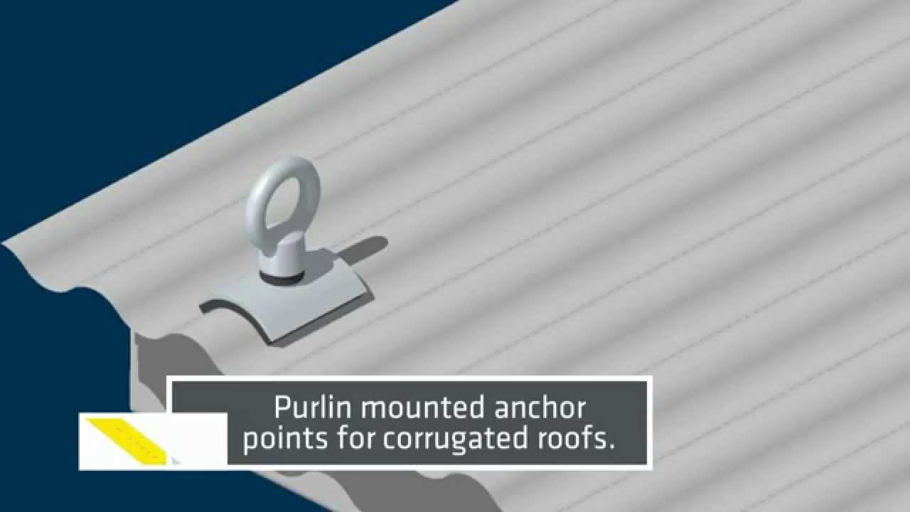 Roof Anchor Points For Rope Access And Fall Arrest
