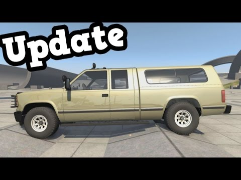 "BeamNG Drive Update 0.8 - D 35 ""Beast"" Suspension Test"