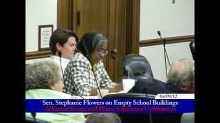 Senator Flowers on Empty School Buildings