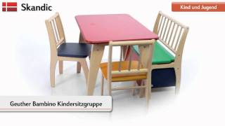 Geuther Bambino Kindersitzgruppe