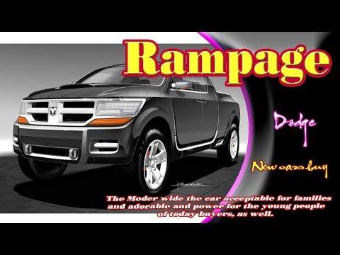 2020 dodge ram rampage | 2020 Dodge Rampage diesel | 2020 Dodge Rampage rebel | new cars buy