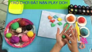 Bé học màu sắc | dạy bé nặn các con vật qua đồ chơi trẻ em đất nặn Play doh | Dạy trẻ thông minh sớm