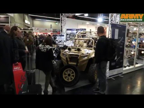 IWA 2016 Hunting Security And Military Equipment Weapons Small Arms Nuremberg Germany Trade Fair