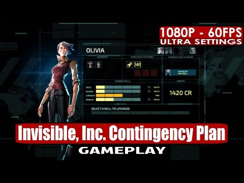 Invisible, Inc. Contingency Plan gameplay PC HD [1080p/60fps]