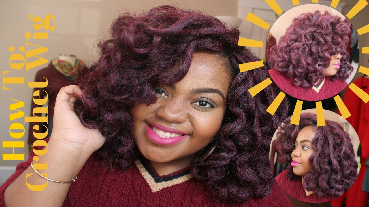 Crochet Braids using Marley Hair (How To) - YouTube