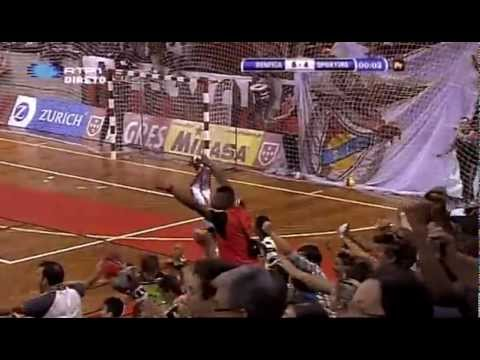 Futsal :: Play-off Final - 5 Jogo :: Benfica - 5 x Sporting - 4 (ap) de 2011/2012