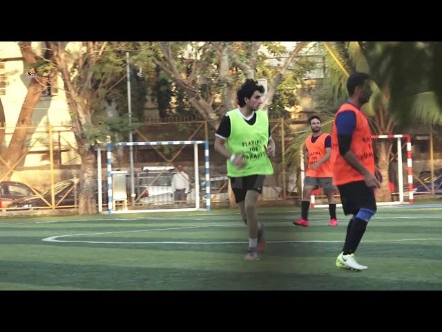 Ibrahim Ali Khan, Aparshakti & Other Celebs At ASFC Football Practice Session Jamnabai Ground Juhu