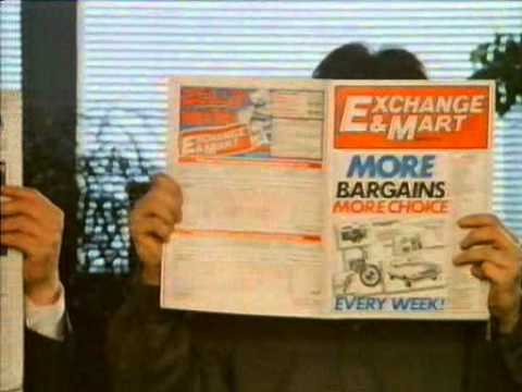 80s and 90s UK Adverts: Exchange & Mart - Tied Down