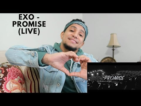 FIRST REACTION TO EXO PROMISE (LIVE)