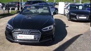 FOR SALE AT PRESTON AUDI, Audi A5 Cabriolet S-Line 2.0TFSI S-Tronic 252PS