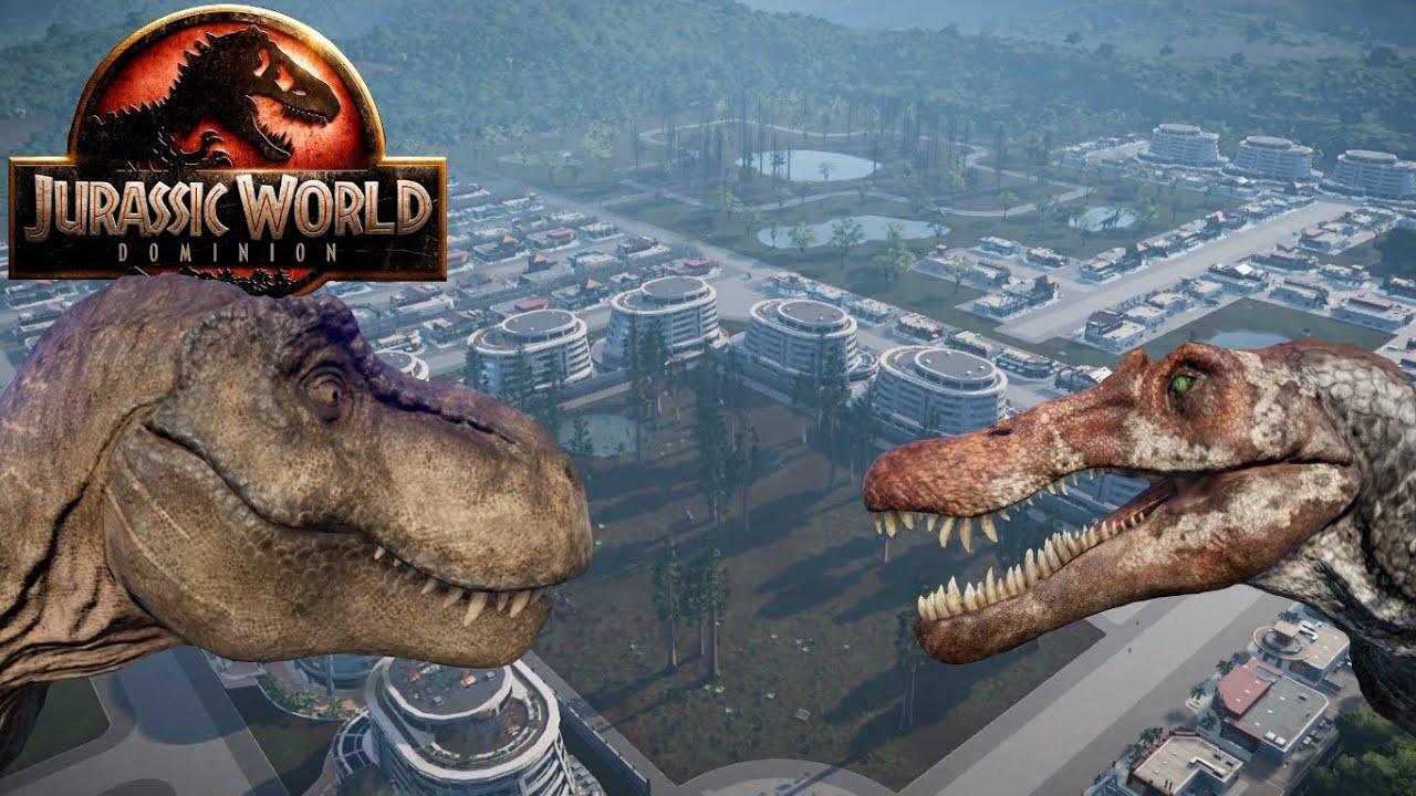 Jurassic World: Dominion Town    JWE