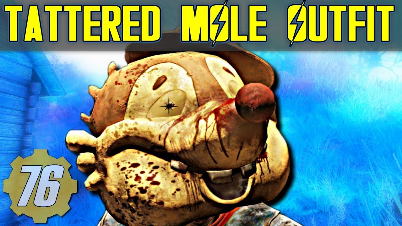 Tattered Mole Rare/Unique Outfit Guide - Fallout 76