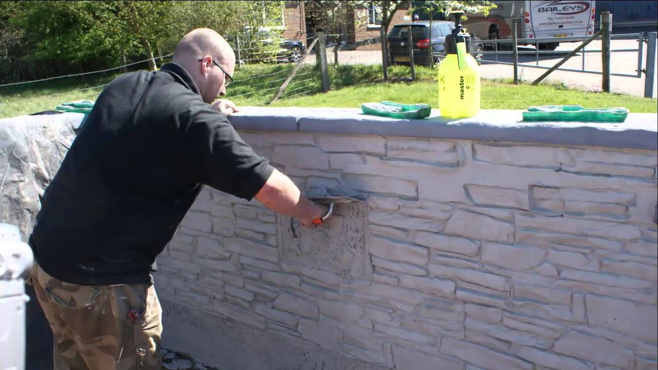 Dry Stone Imprinting With Stone Effect Render Youtube