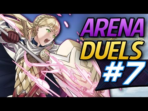 Fire Emblem Heroes: Online Arena Duels #7 - Sharena the team player! (Advanced Difficulty)