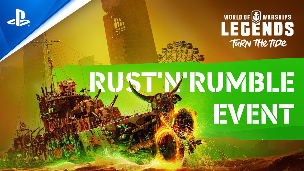 World of Warships: Legends   Rust 'n' Rumble Halloween Event announcement   PS4