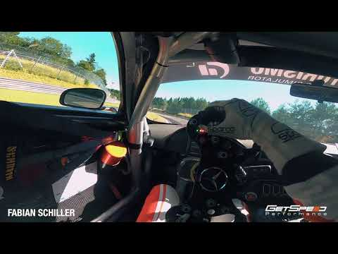 Nürburgring Nordschleife Helmet Cam POV GetSpeed Mercedes AMG GT3 Fabian Schiller
